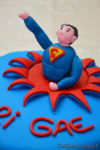 Torte - 10 - Torta Superman
