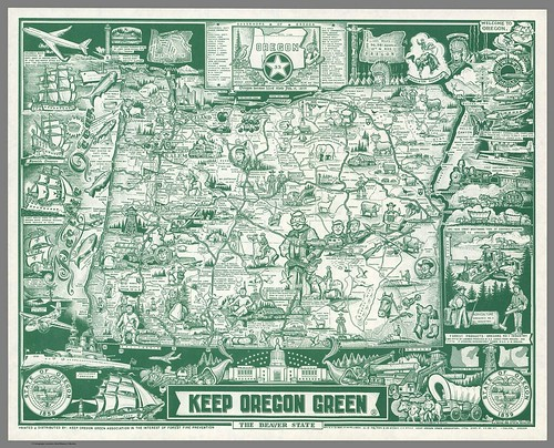 Keep Oregon Green: The Beaver State Keep Oregon Green Association, Salem, Oregon: 1962