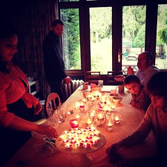 #TBT to celebrating #Diwali last year with @gilbert_west, @soundbitecity and his lovely family in #Brussels.