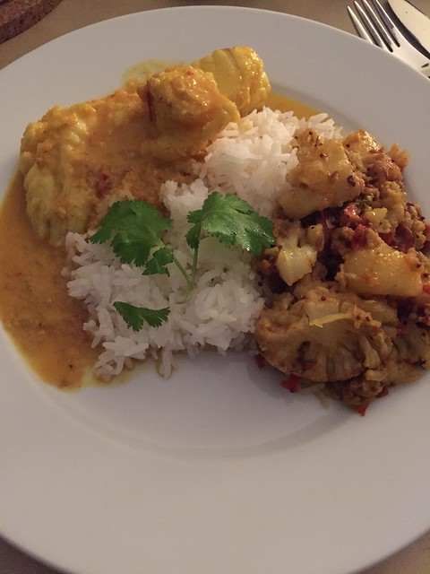 Aloo Gobi / Goan Fish Curry