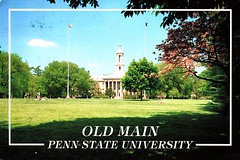 USA-Old Main University