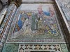 Donateurs, fresques de l'abside (XVème siècle), basilique Notre-Dame de Valère (XIIe-XIIIe siècles), colline de Valère, Sion, canton du Valais, Suisse.