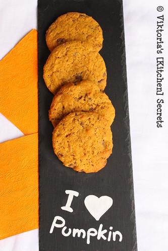 Kürbis- Schoko Cookies, Viktoria's [Kitchen] Secrets