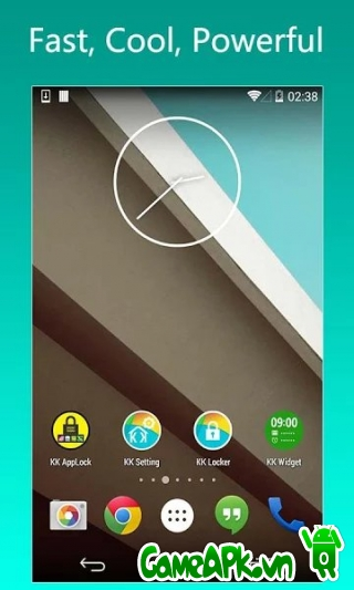 KK Launcher (Lollipop & KitKat) v5.2 Unlocked cho Android