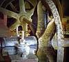 Water mill gears
