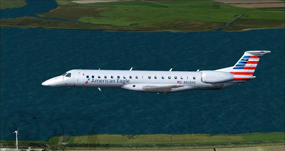 ProjectOpenskyEmbraer145AmericanEagle_N928AE