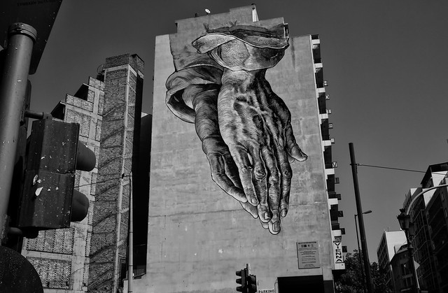 Big Hands - Athens Wall Art No1