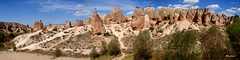 Topography of Cappadocia