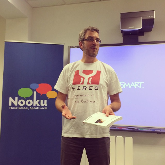 Jisse has written a book: Programming #Joomla Plugins #NookuJam14
