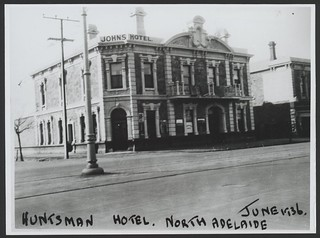 Hunstman Hotel, O'Connell Street, North Adelaide, 1936