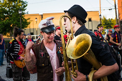 Portraits from Honk Fest West