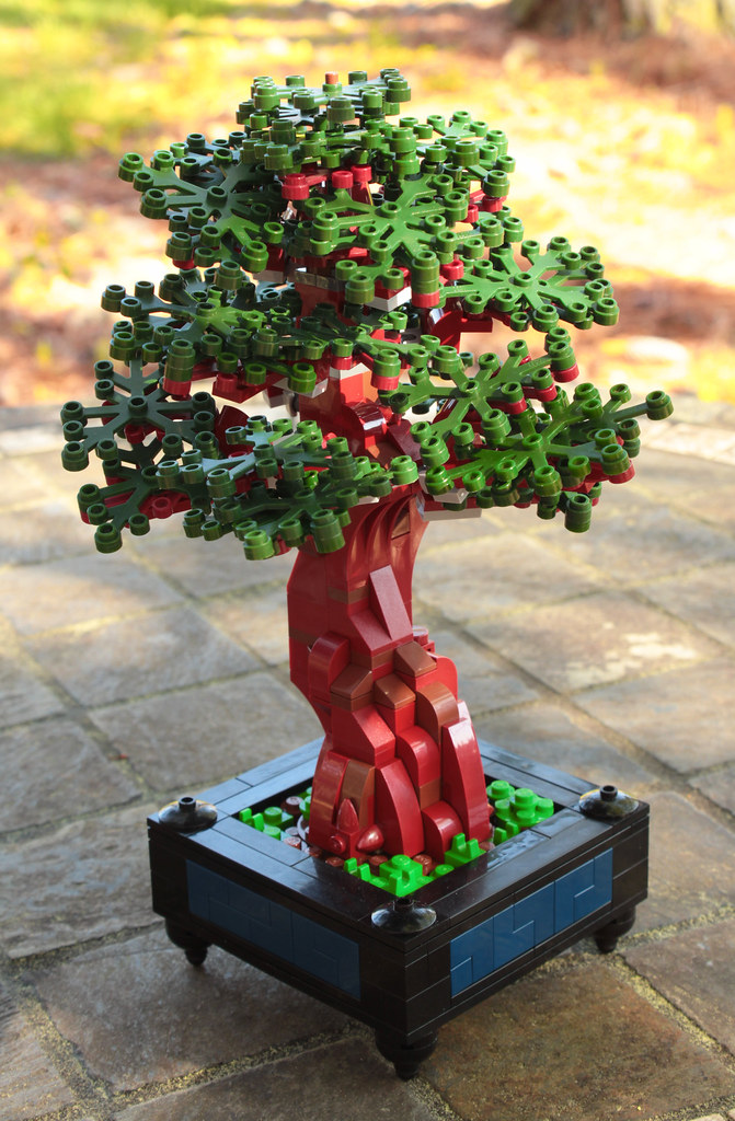 Bonsai (custom built Lego model)