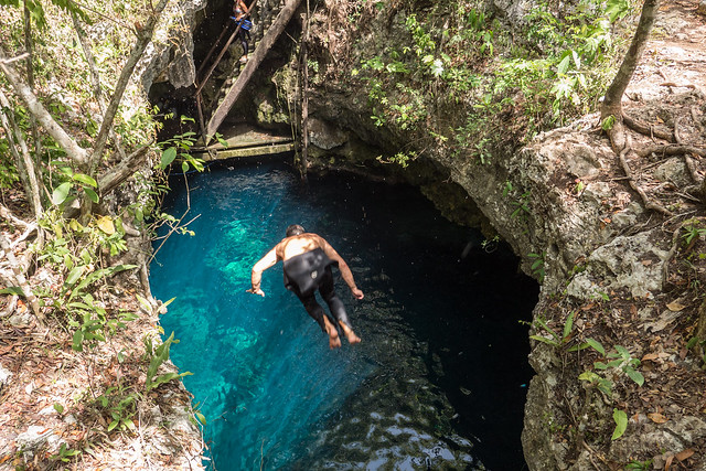 Tulum The Pit Cenote-2 The Best Cenotes near Tulum and Playa del Carmen, Mexico | Free Cenotes in Mexico | The best Cenotes in Tulum for Divers and Snorkellers | Best cenotes near Playa del Carmen | Best cenotes to dive in | Best cenotes for snorkelling in Mexico