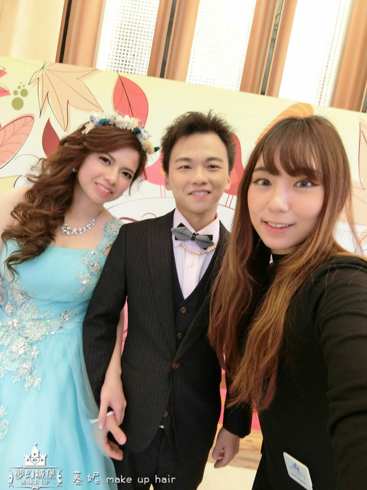 【新秘蓁妮】bride欣怡 結婚造型 / 梧棲海港城婚宴會館