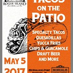 Taco's & Coffee On The Patio @borealiscoffee May 5th For #cincodemayo #tacos #foodie #foodies #rogueisland #borealis