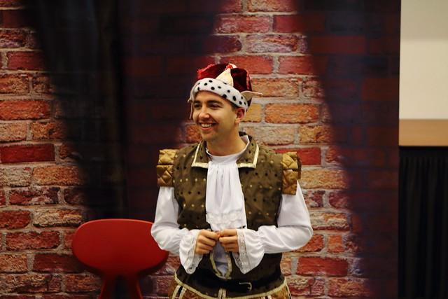 Britse acteurs Gerrit Komrij College-LH (51)