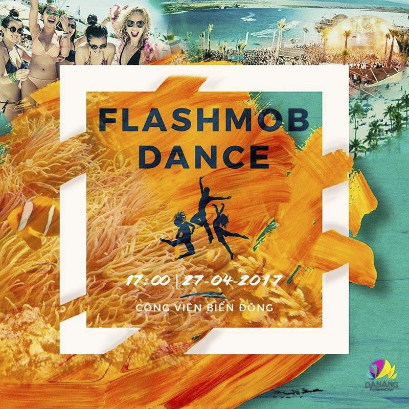 Sự kiện Flashmob biển Đà Nẵng 2017 2