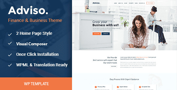 Adviso WordPress Theme free download