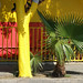composition in yellow,red and green by lavocado@sbcglobal.net