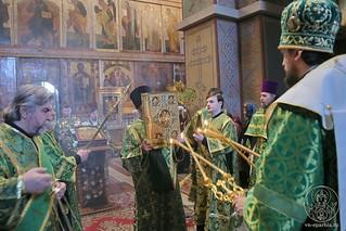 Литургия в Софийском соборе 170