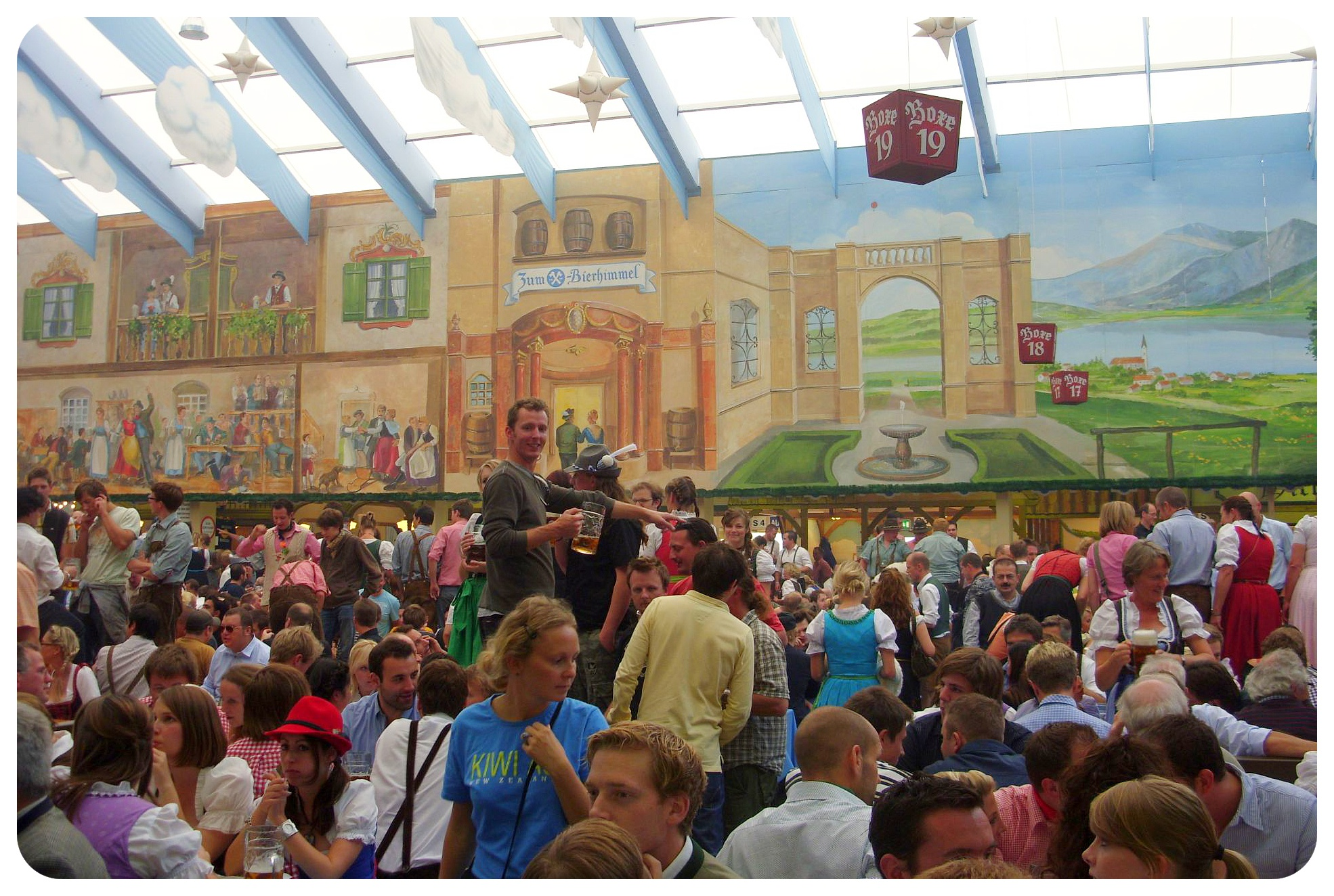 oktoberfest tent in munich