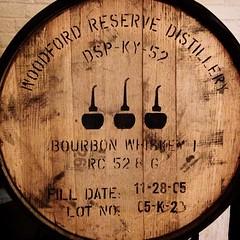 Charred Oak Inside - #bourbon #woodfordreserve #ale #bourbonbarrelale #moerlein #moorestreet #brewery #kentucky #borninkentucky #cincy #cincyusa #urbanohio #cincypics #queencityscenes #otr #thisisotr