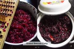 Grated Beetroot Curry