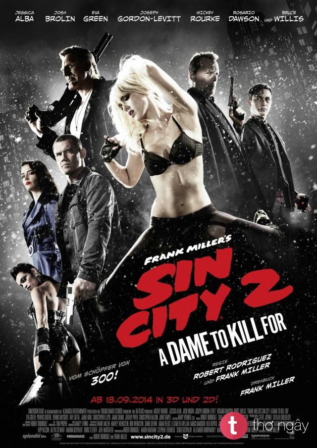 Phim Sin City: Hào Quang Trở Lại - Sin City: A Dame To Kill
