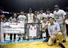 UAAP Season 77 Game 3: NU Bulldogs vs. FEU Tamaraws, Oct. 15