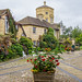 Green Templeton College Courtyard - Oxford by Bob Radlinski
