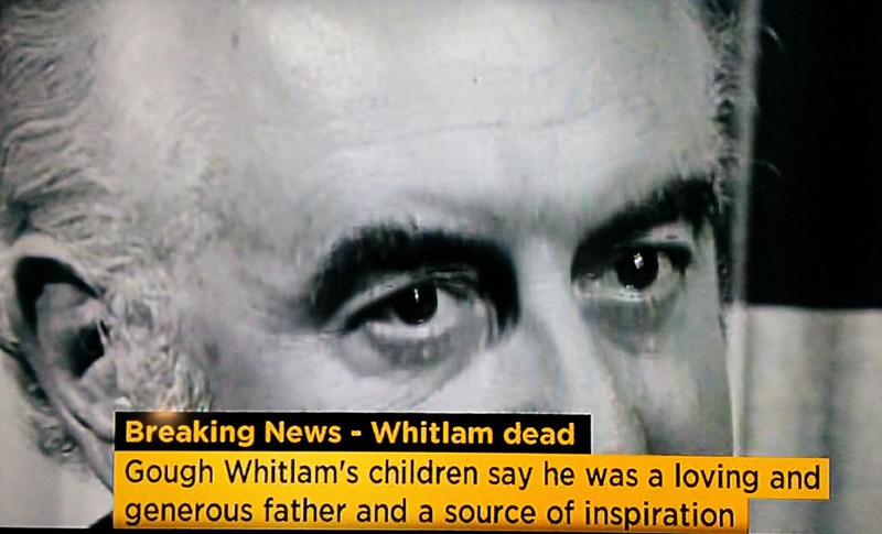 RIP Gough Whitlam