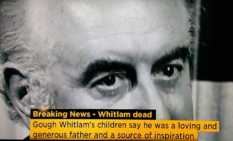 RIP Gough Whitlam