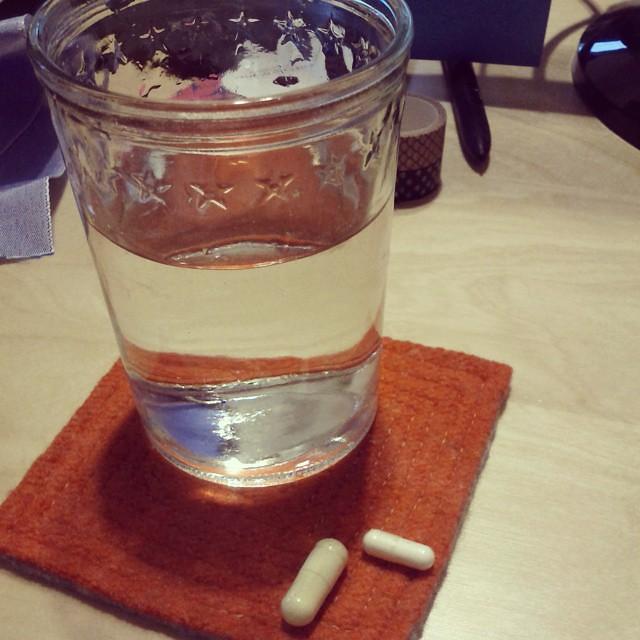 Morning vitamin delivered by Jordan. #onedayhh