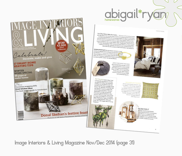 Image Interiors & Living Magazine - Press Nov 2014