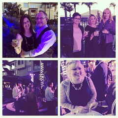 #goodtimes at the @bubblyfest kickoff #cocktail #party #Bubbles #sparkling #ShareSLO #bubblyfest