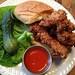 Spitzer's Buffalo Chicken sandwich