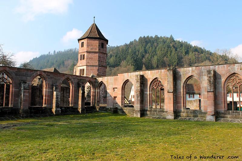 CALW - HIRSAU - Kloster Hirsau - Kreuzgang / Torturm