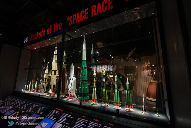 Sun, 10/26/2014 - 15:09 - 1/72 scale models of various rockets used in the US/USSR Space Race - Stafford Air and Space Museum - October 26, 2014 3:09:16 PM - Weatherford, Oklahoma (35.5447,-98.6700)