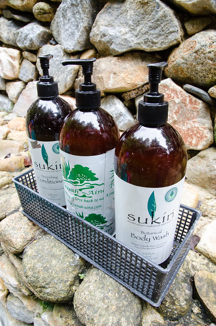 Organic shampoo, body wash and conditioner