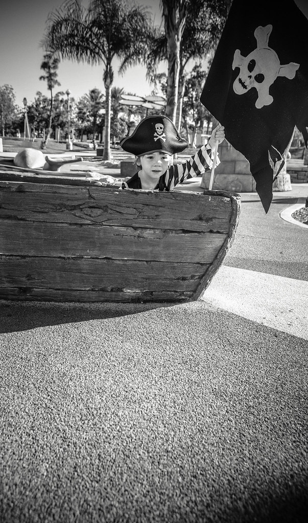 kids pirate photo shoot