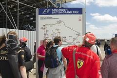 Santander British Formula 1 Silverstone 2014.