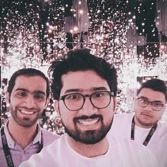 Selfie at #AbuDhabiArt