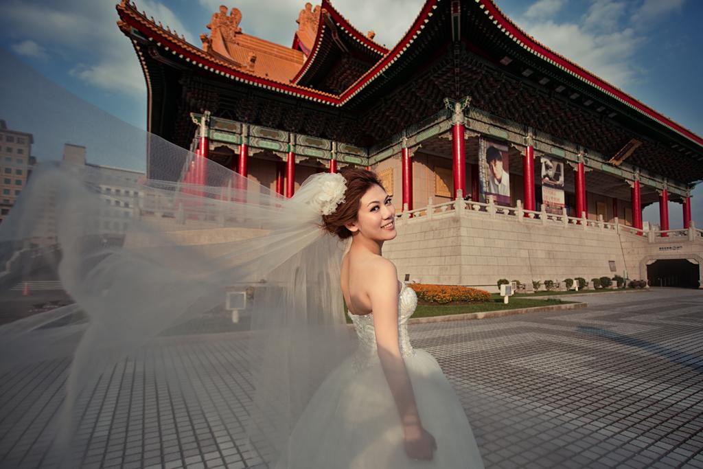 郭賀影像,郭賀婚紗,自助婚紗,自主婚紗,四四南村,萬華剝皮寮,中正紀念堂,自由廣場