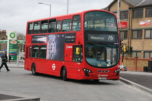 Arriva London DW300 on Route 76, Tottenham Hale Bus Station