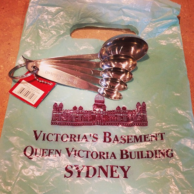 I showed GREAT restraint at Victoria's Basement last week. If only I had taken an extra suitcase to Sydney!