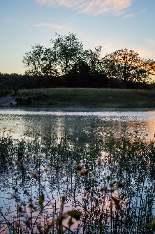 nature sunrise photography landscape lake potosi missouri