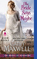 The Bride Says Maybe by Cathy Maxwell - Signed!