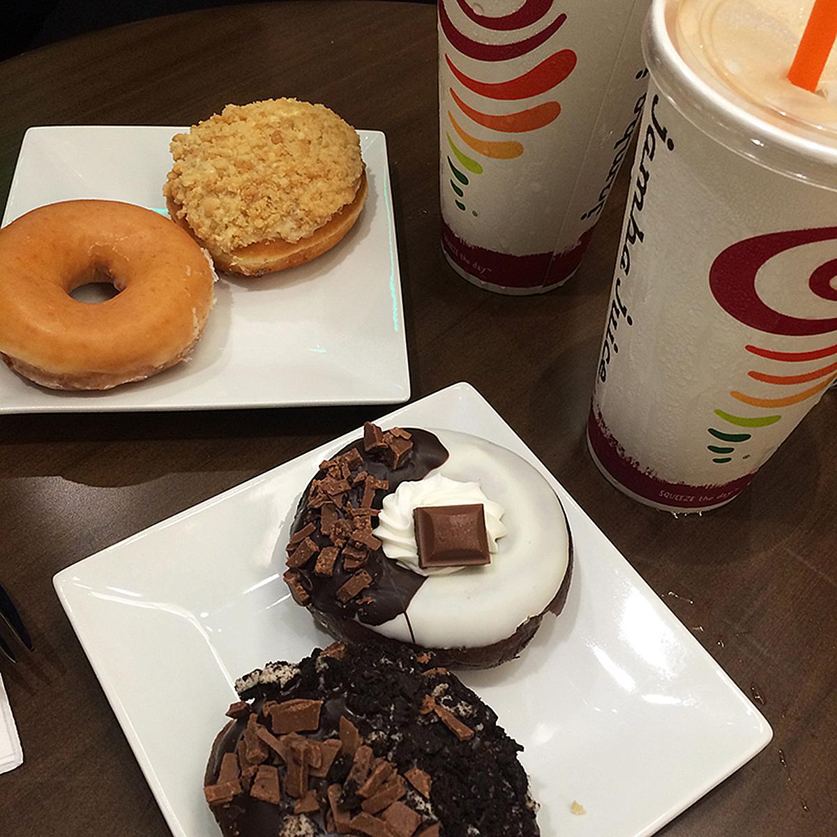 Trice Nagusara Krispy Kreme and Jamba Juice 02