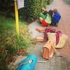Geen auto, bakfiets kapot. #delijn to the rescue.