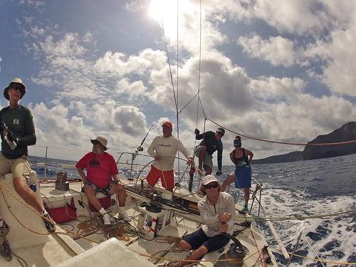71st Annual Lahaina to Honolulu Race - Gerontius Farr 42